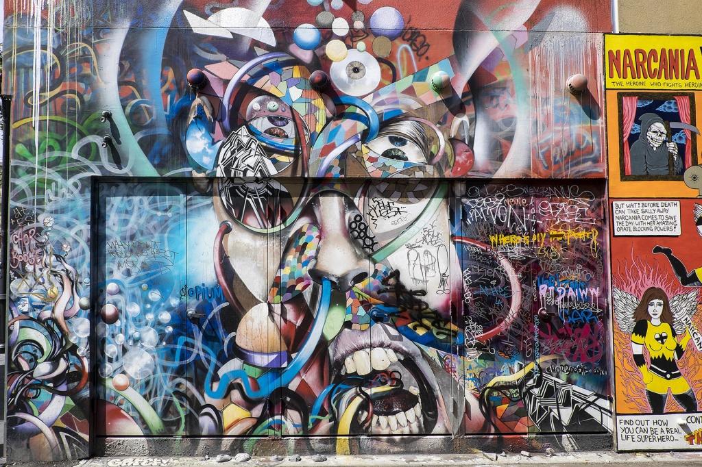 Современное граффити