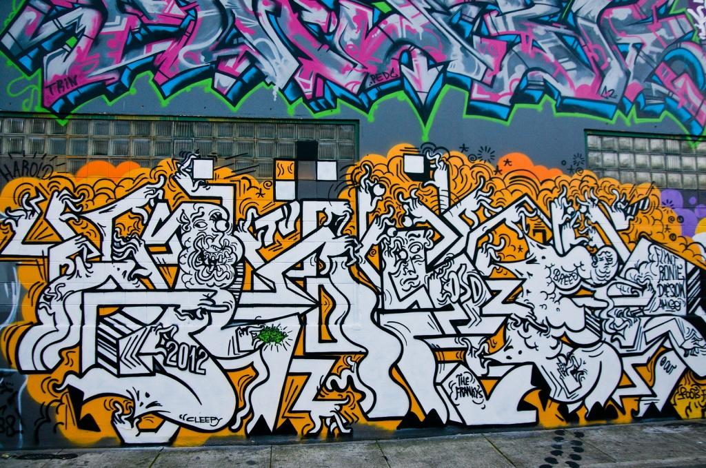 Уличные граффити