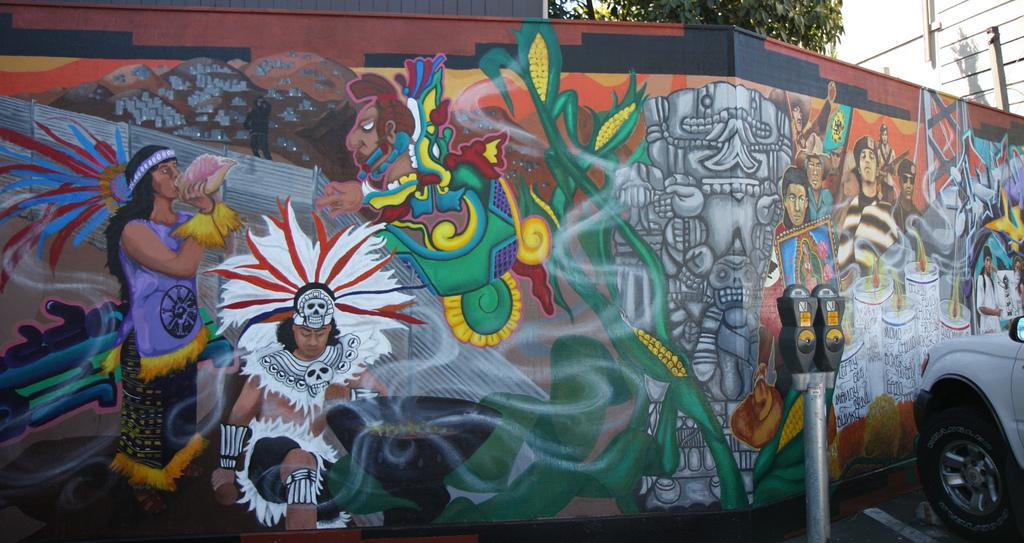 Интересные граффити