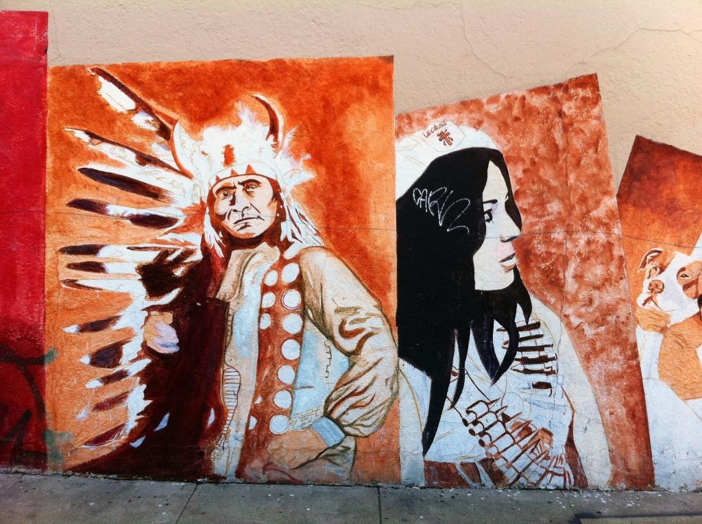 Граффити на фасадах