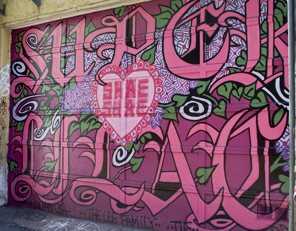 Граффити в городе
