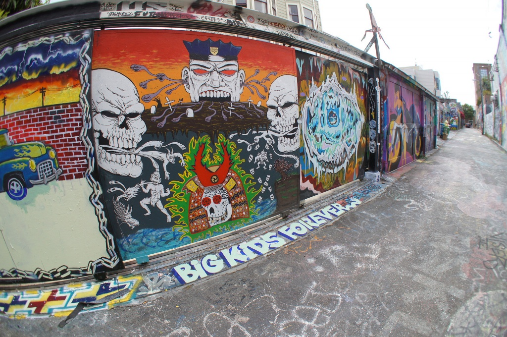 Стрит граффити